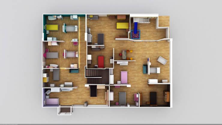 RicH İçmimarlık – almila konsept mağaza çorlu/istanbul DİLDE MOBİLYA: modern tarz , Modern