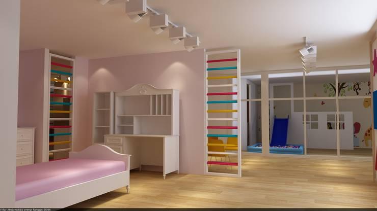 RicH İçmimarlık – almila konsept mağaza çorlu/istanbul DİLDE MOBİLYA:  tarz Çalışma Odası, Modern