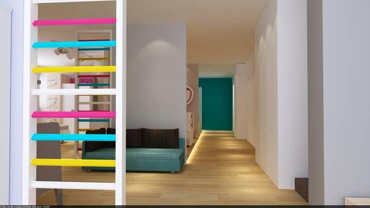 RicH İçmimarlık – almila konsept mağaza çorlu/istanbul DİLDE MOBİLYA:  tarz Çocuk Odası, Modern