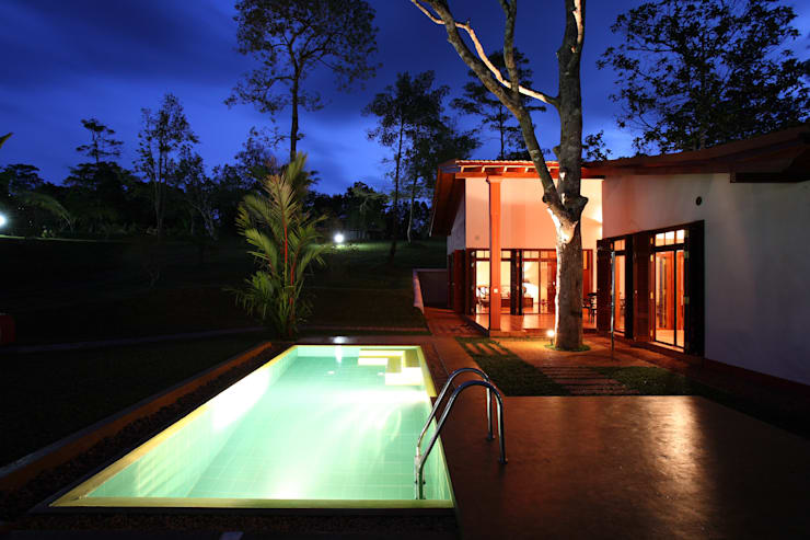 Piletas de estilo  por ALL | Architekten Landenberger + Lösekrug