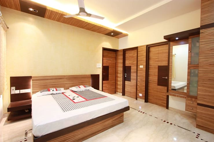 Bedroom by Ansari Architects
