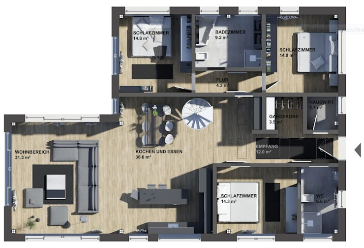 de estilo  por K-MÄLEON Haus GmbH