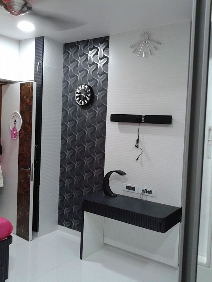 Mr Kamdar 20th Floor: modern Bathroom by TRINITY DESIGN STUDIO