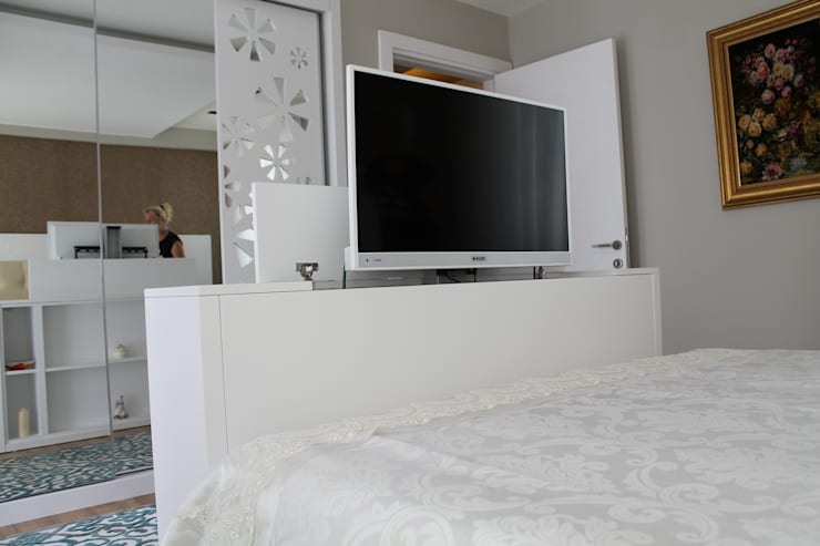 Slaapkamer Lcd Tv.How Can I Integrate A Tv Into My Bedroom