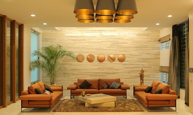Lunar Eclipse : modern Living room by artitude