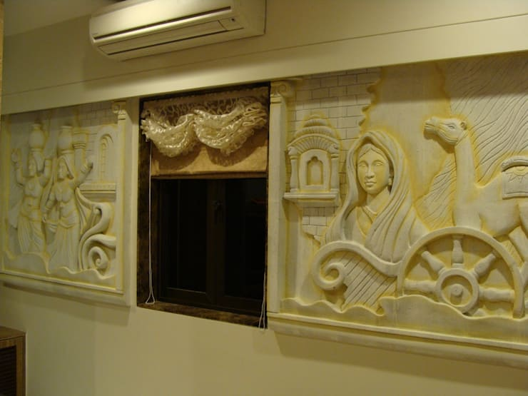 Shivaji Park:  Walls by TRINITY DESIGN STUDIO