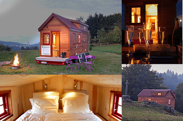 Tiny House Concept tiny house concept -tiny house concept - berard frederic   homify