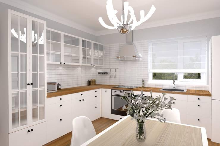 Студия архитектуры и дизайна Вояджи Дарьи의  주방