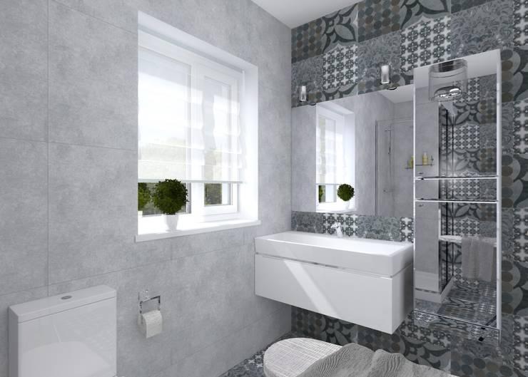 حمام تنفيذ Студия архитектуры и дизайна Вояджи Дарьи