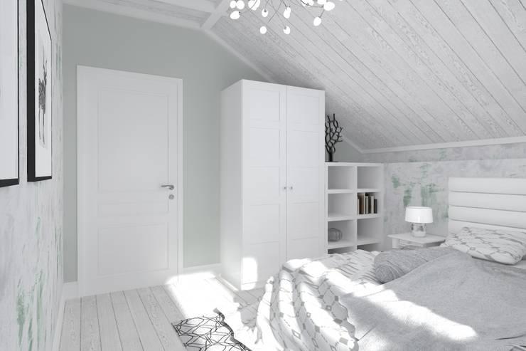 Bedroom by Студия архитектуры и дизайна Вояджи Дарьи
