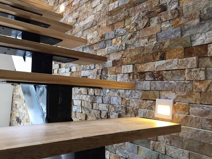 Pasillos y vestíbulos de estilo  por ALSE Taller de Arquitectura y Diseño