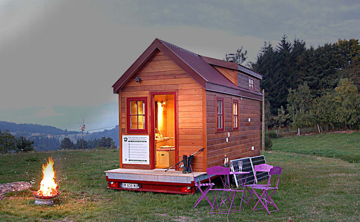 Houses by TINY HOUSE CONCEPT - BERARD FREDERIC