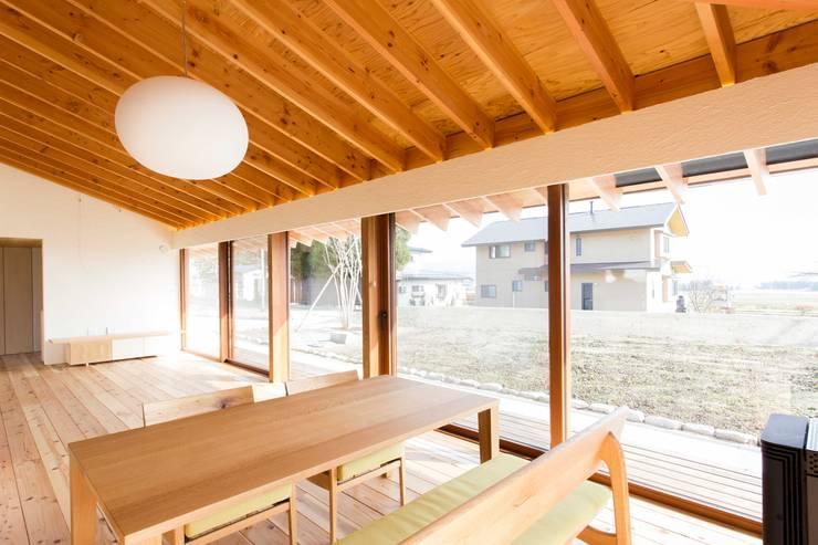 餐廳 by アーキテクチュアランドスケープ一級建築士事務所