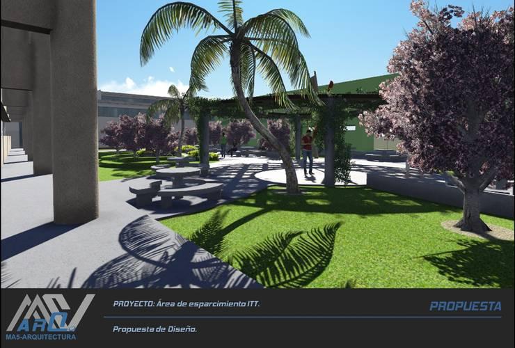 Área de esparcimiento ITT:  de estilo  por MA5-Arquitectura