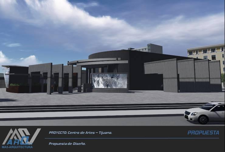 Centro de Artes - Tijuana:  de estilo  por MA5-Arquitectura