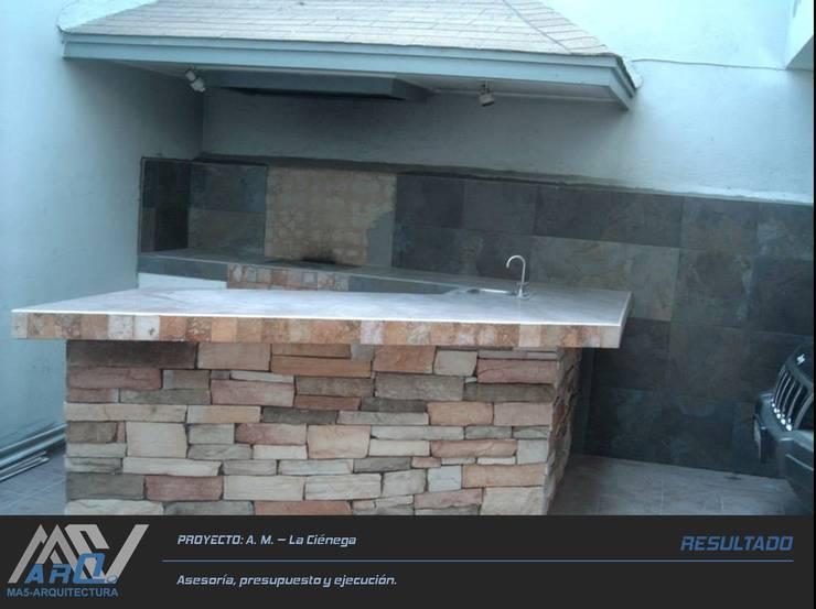 Casas de estilo  por MA5-Arquitectura
