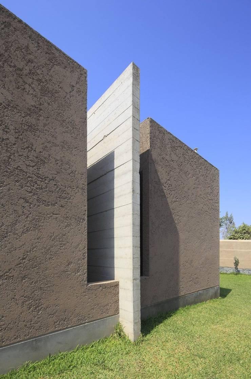 Casa oZsO: Casas de estilo  por Martin Dulanto,