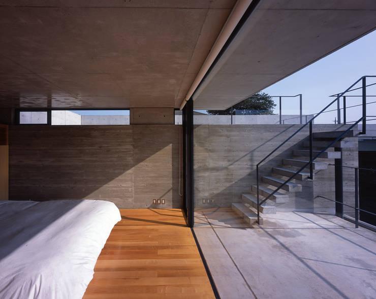 結城の家: SHSTTが手掛けた寝室です。