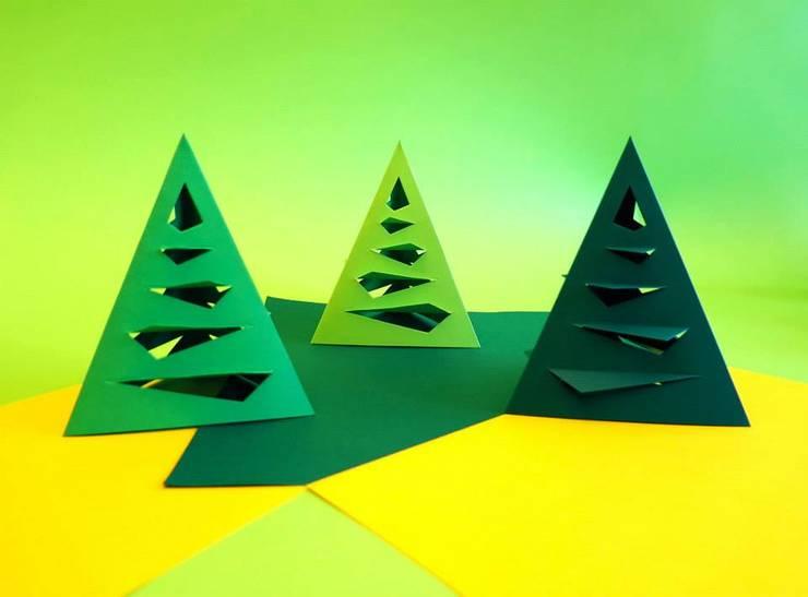 Navidad: Hogar de estilo  por POLYHEDRA ESTUDIO