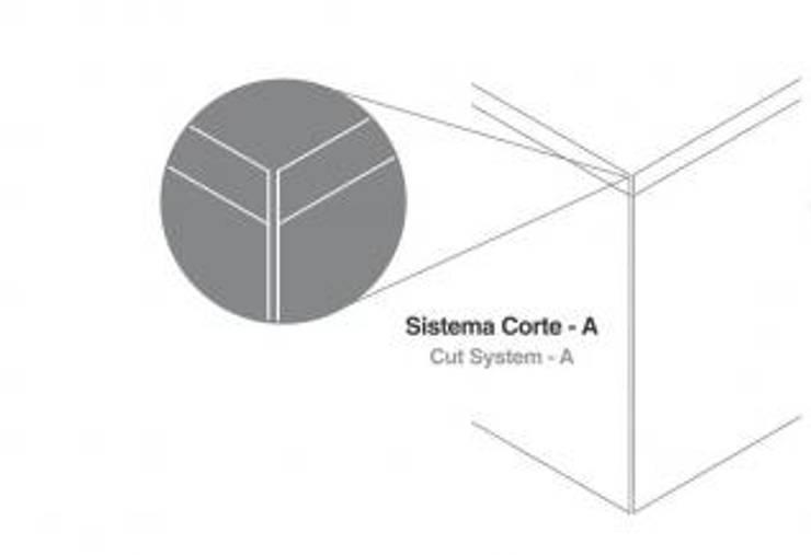 Sistema  Corte-A: Paredes  por Amop