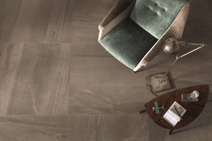 LAVICA: styl , w kategorii Ściany i podłogi zaprojektowany przez Mirad Beta