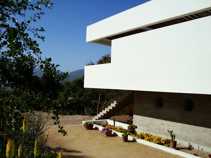 Casa Valdés: Casas de estilo moderno por G4 Arquitectos Asociados