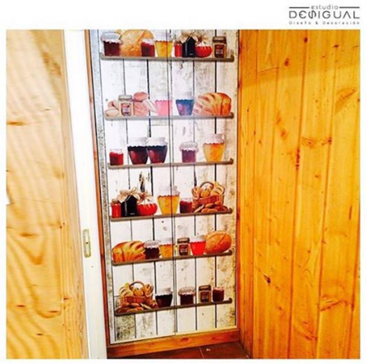 Кухни в . Автор – Estudio Desigual, Модерн