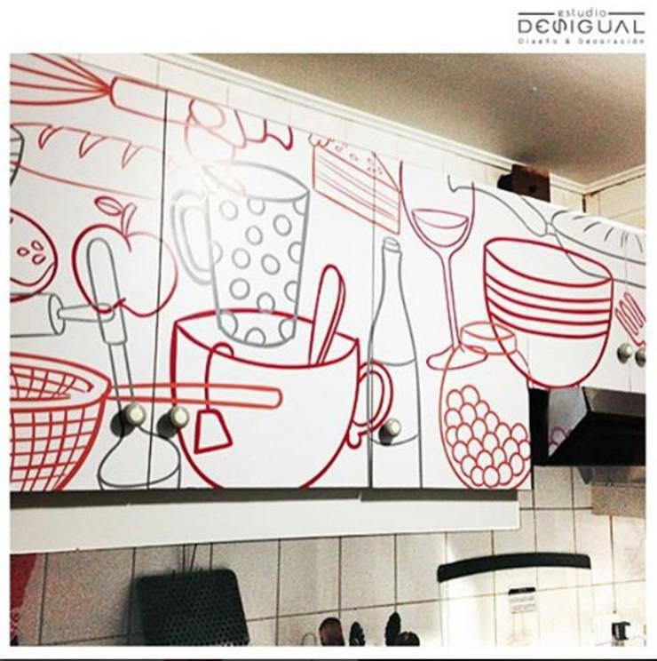 Кухни в . Автор – Estudio Desigual, Минимализм