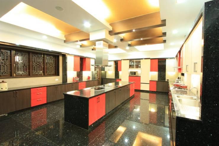 kitchen: modern Kitchen by Ansari Architects