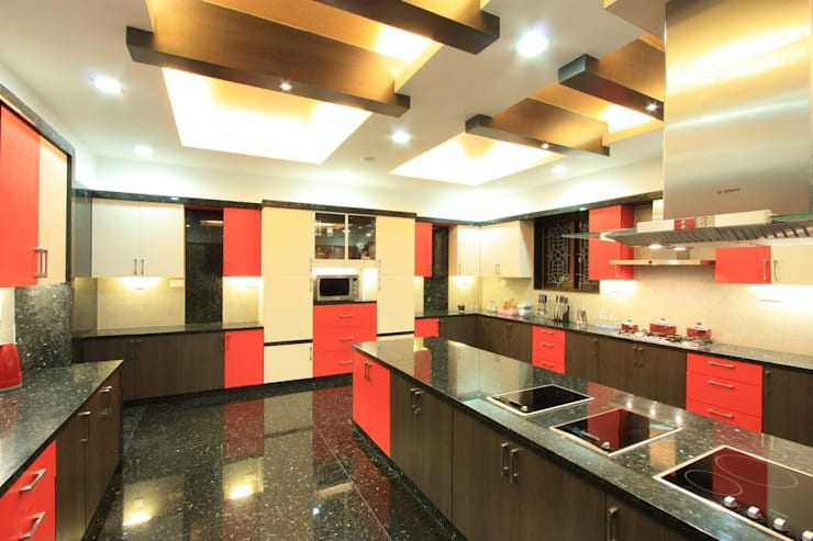 kitchen: modern Kitchen by Ansari Architects