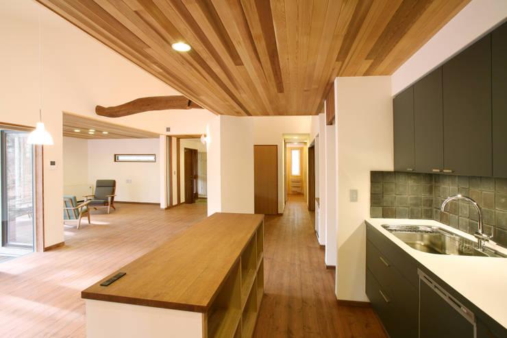 キッチン: 一級建築士事務所 アトリエ カムイが手掛けたキッチンです。