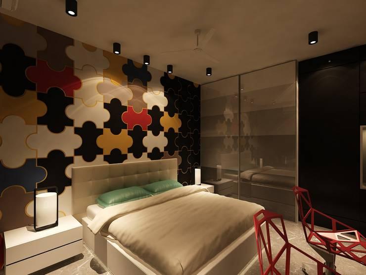 Residential :  Bedroom by MAPLE studio design