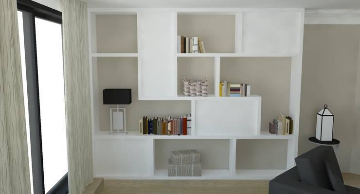 Appartement Rémois: Bureau de style  par ARCHI DEKO