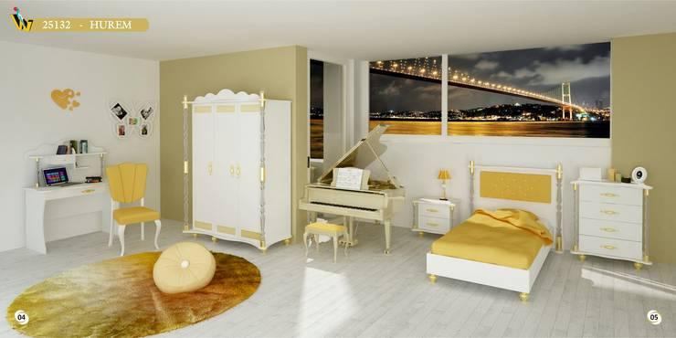 Woody Modular Furnitures by Aga Orman Urunleri Ltd. – Hurem Teenager Bedroom :  tarz Çocuk Odası