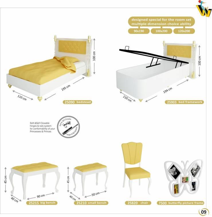 Woody Modular Furnitures by Aga Orman Urunleri Ltd. – Hurem Teenager Bedroom :  tarz Çalışma Odası