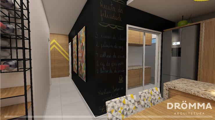 INTERIORES M |G 147: Cozinhas modernas por Drömma Arquitetura