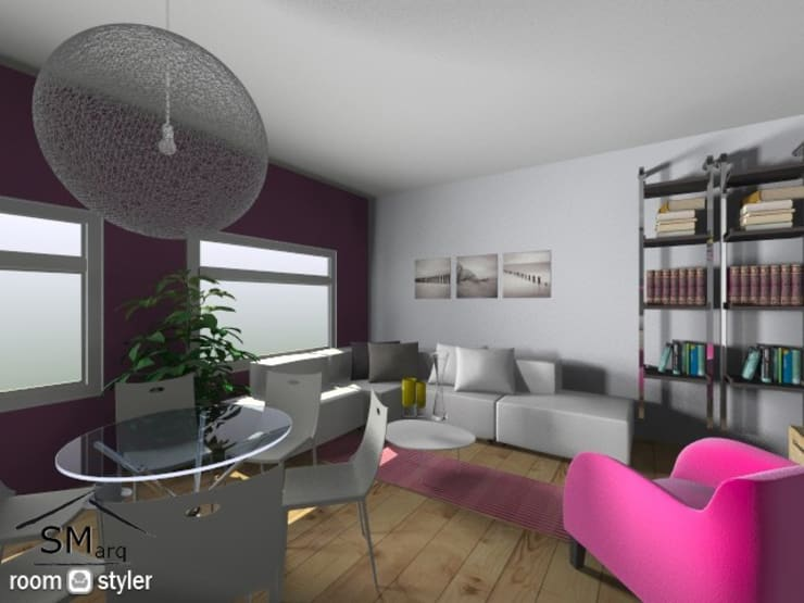 Consulta de Arquitectura $200.- Comedores modernos de SMarq Moderno