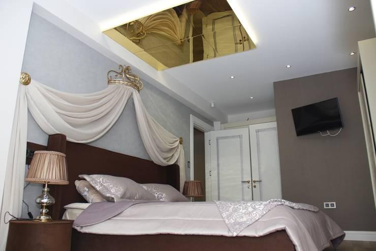 50GR Mimarlık – SERDİVAN VİLLLALARI:  tarz Yatak Odası