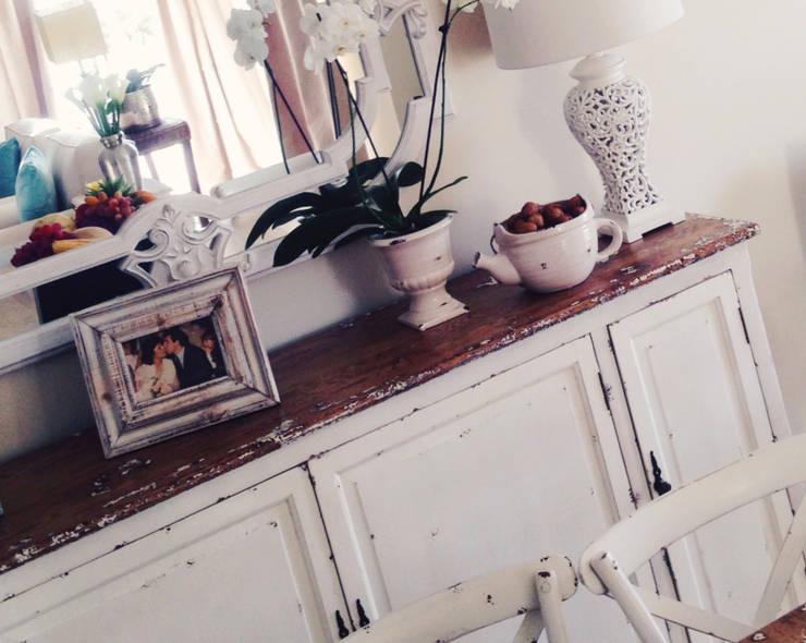 Zona de Refeição : Salas de jantar  por Rafaela Fraga Brás Design de Interiores & Homestyling