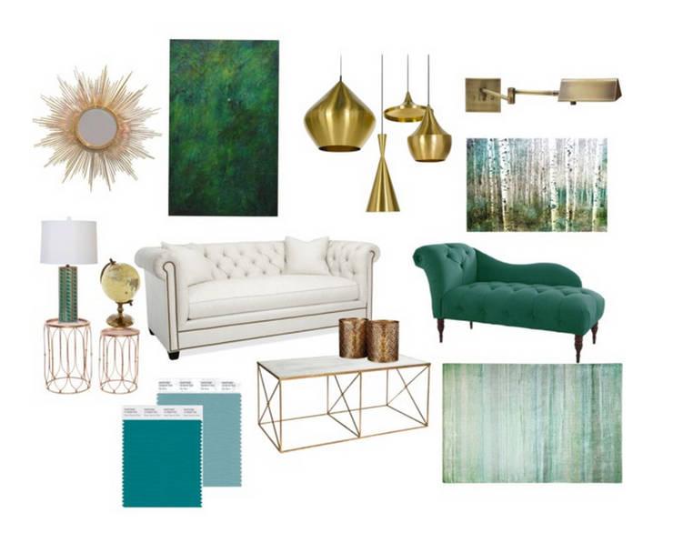 Sala de Suite :   por Rafaela Fraga Brás Design de Interiores & Homestyling
