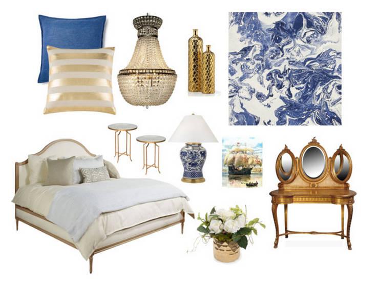 Suite :   por Rafaela Fraga Brás Design de Interiores & Homestyling