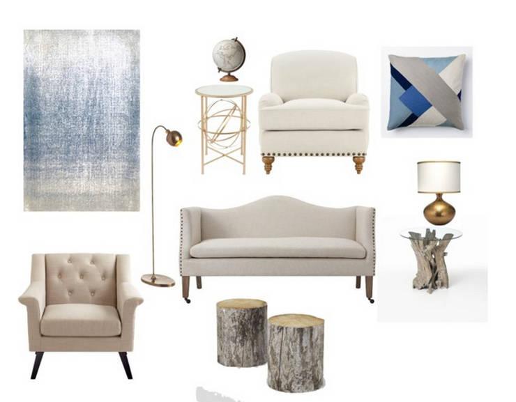 Projekty,   zaprojektowane przez Rafaela Fraga Brás Design de Interiores & Homestyling