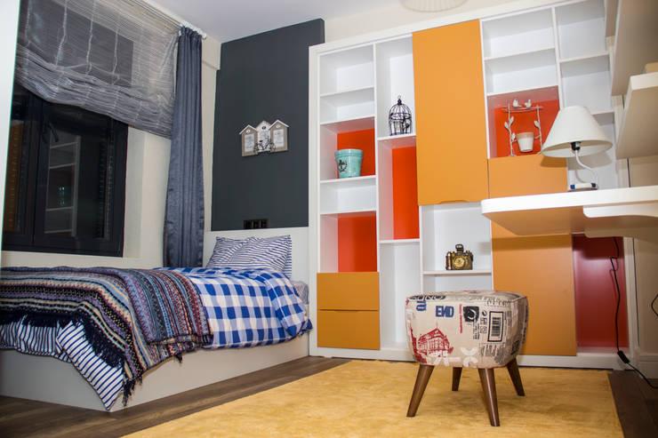 50GR Mimarlık – SERDİVAN VİLLALARI:  tarz Çocuk Odası, Akdeniz