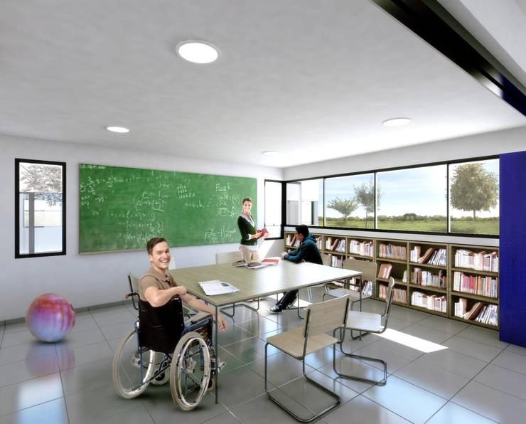 Centro de día U.B.E.:  de estilo  por Estudio 2s   Arquitectos
