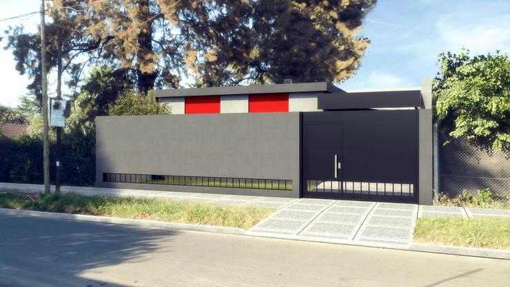Casa Pellegrino:  de estilo  por Estudio 2s | Arquitectos