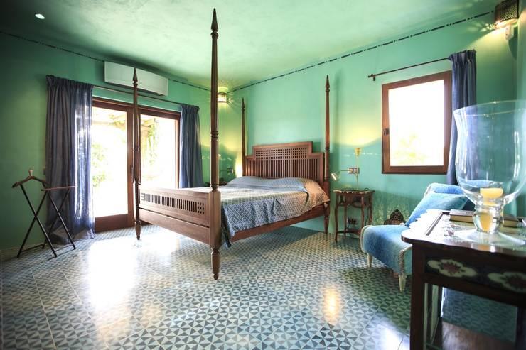 غرفة نوم تنفيذ Crafted Tiles
