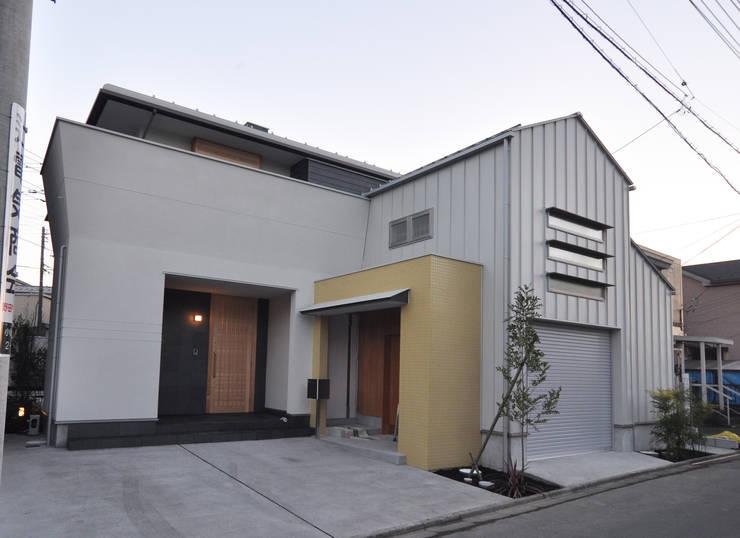 バスケットボールのできる家: (株)独楽蔵 KOMAGURAが手掛けた家です。