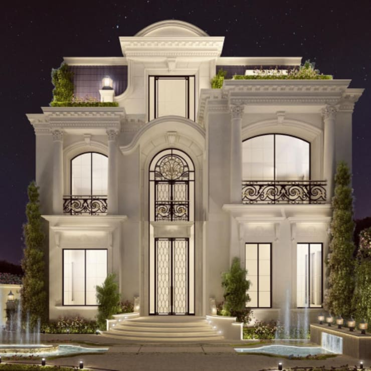 Casas de estilo  por IONS DESIGN