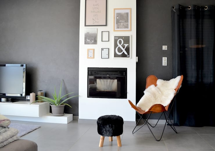 Livings de estilo moderno por SAMANTHA DECORATION