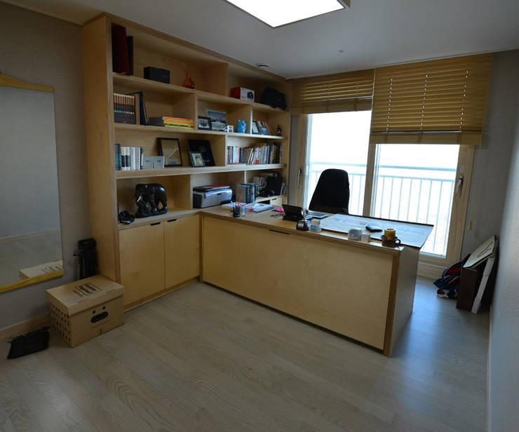 청라반도보라 2차 (Chunglabanbobora 2nd): 진플랜의  서재 & 사무실